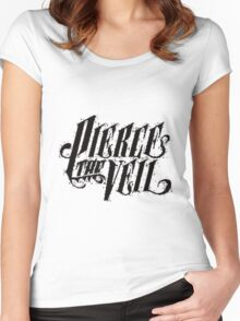 pierce the veil Women's Fitted Scoop T-Shirt