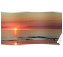 Sunset at Cable Beach Broome Poster