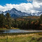 Consider the Mountains in Autumn by rjcolby