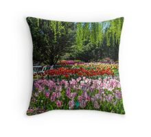 Celebration of Spring Throw Pillow