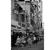 Saigon Shopping - Ho Chi Minh City, Vietnam Photographic Print