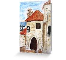 Eze Village Provence France Greeting Card