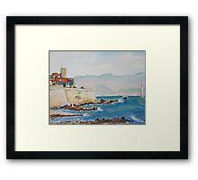 Antibes Provence Framed Print