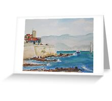 Antibes Provence Greeting Card
