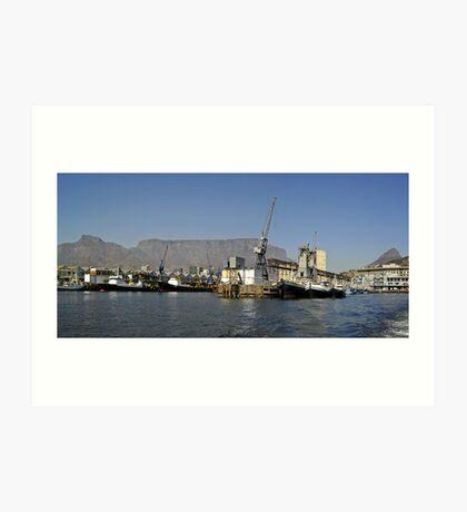 Cape Town Harbour Art Print