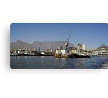 Cape Town Harbour Canvas Print