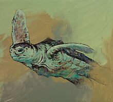 Sea Turtle by Michael Creese