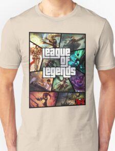 League of Legends GTA Poster T-Shirt