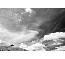 Standing among clouds  Photographic Print