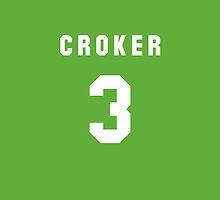 Jarrod Croker iPhone Cover by nweekly