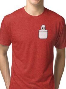 Napstablook in the Pocket - Undertale Tri-blend T-Shirt