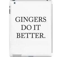 Gingers Do It Better iPad Case/Skin