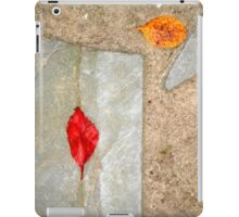 slate leaves iPad Case/Skin