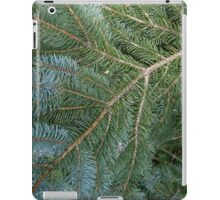 blue spruce iPad Case/Skin