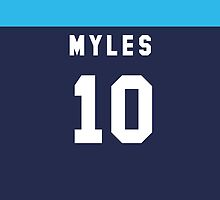 Nate Myles iPhone Cover by nweekly