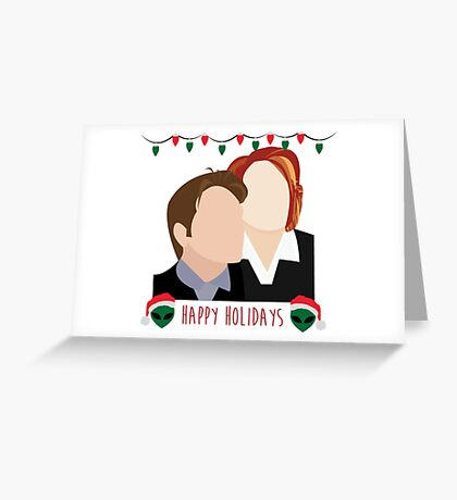 A Very X Files Christmas Greeting Card