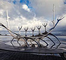 Solfar, Reykjavik by Peter Kewley