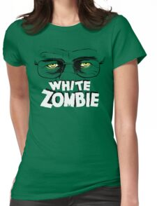 Walter White Zombie Womens Fitted T-Shirt