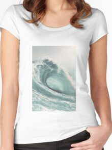 Wave Women's Fitted Scoop T-Shirt