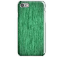 Fabulous Green Wood Grain iPhone Case/Skin