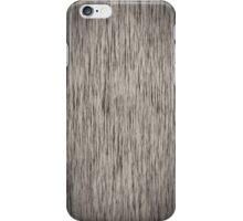 Fabulous Grey Wood Grain iPhone Case/Skin
