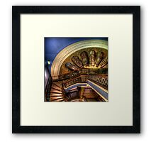 Entry Lines Framed Print