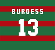 Sam Burgess iPhone Cover by nweekly