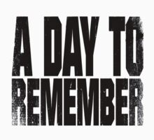 A Day To Remember Logo by marebear141