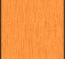 Fabulous Orange Wood Grain  by Nhan Ngo