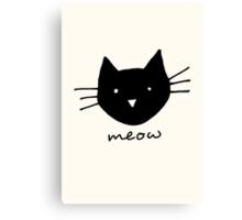 Meow. Canvas Print