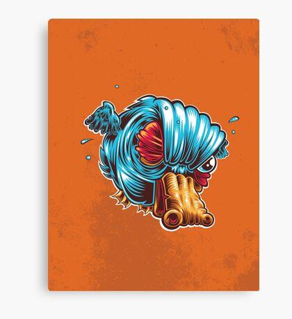 Q is for Quack Fart Canvas Print