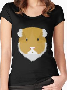 Brown Guinea Pigs Women's Fitted Scoop T-Shirt