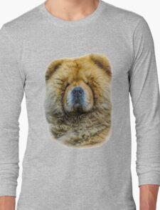 Chow portrait Long Sleeve T-Shirt