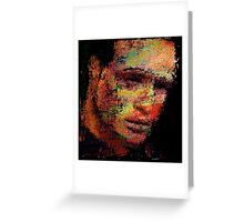 Marlon Fucking Brando. Greeting Card