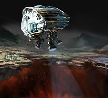 Fissure: Earth 2060 by Tom Godfrey