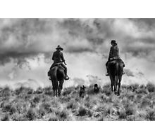 Mustering on Balmoral Station Photographic Print