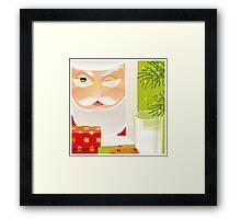 Santa!.. Framed Print