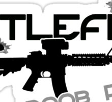 Battlefield Noob PWNer Sticker