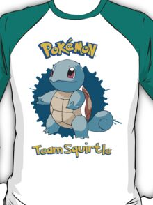 Team Squirtle - Pokemon X Y T-Shirt