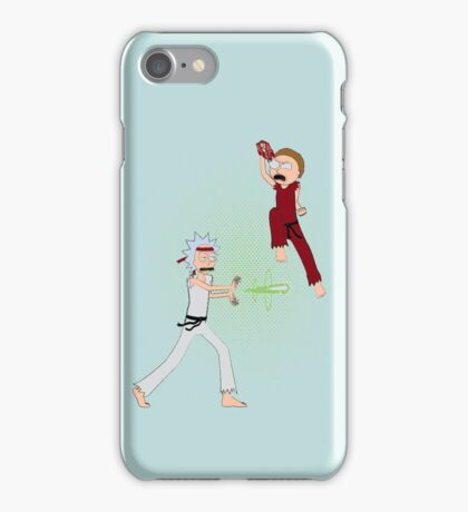Rick Fighter 2 iPhone Case/Skin