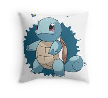 Team Squirtle - Pokemon X Y Throw Pillow