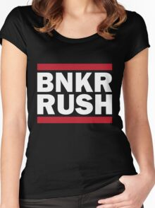 BUNKER RUSH Women's Fitted Scoop T-Shirt