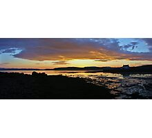 Bay Of Tranquility - Golden Tide Photographic Print