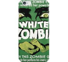 white zombie iPhone Case/Skin