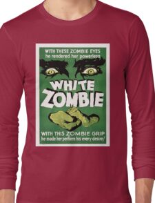 white zombie Long Sleeve T-Shirt