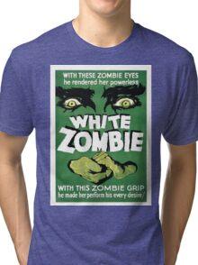 white zombie Tri-blend T-Shirt