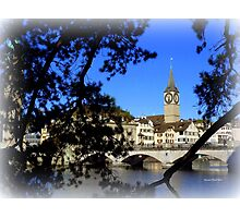 Reflections of Limmat Photographic Print