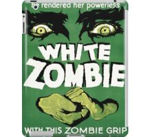 white zombie iPad Case/Skin