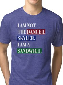 BREAKING BAD SANDWICH Tri-blend T-Shirt