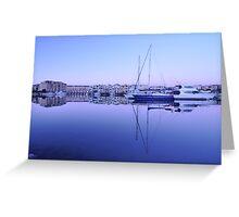 Mirror Marina  Greeting Card